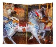 Carousel Horse Photo Art 02 Tapestry