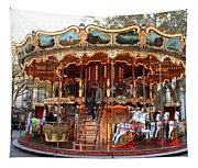 Carousel In Avignon Tapestry