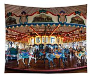 Carousel Ride Tapestry