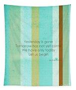 Carpe Diem Serie - Mother Teresa Tapestry