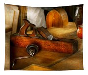 Carpenter - The Humble Shop Plane Tapestry