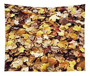 Carpet Of Leafs Tapestry