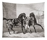Carriage Horses For The King Tapestry
