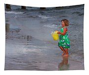Carrying Water Tapestry