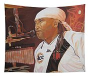 Carter Beauford At Red Rocks Tapestry