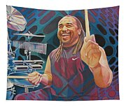 Carter Beauford-op Series Tapestry