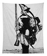 Cartoon: Hessian Soldier Tapestry