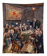 Cartoon: Politicians Tapestry