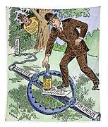 Cartoon: Temperance, C1915 Tapestry