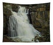 Cascade Creek Under The Bridge Tapestry