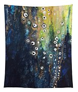Cascading Colors II Tapestry