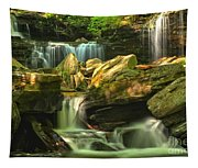 Cascading Everywhere Tapestry