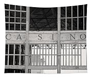Casino Bw Tapestry