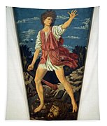 Castagno's David With The Head Of Goliath Tapestry