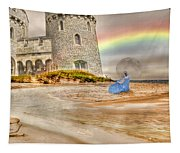 Castle By The Sea Tapestry