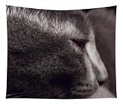 Cat Portrait Tapestry