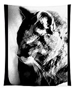 Cat Profile Tapestry