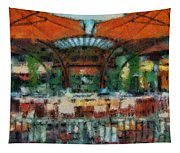 Catal Outdoor Cafe Downtown Disneyland Photo Art 03 Tapestry
