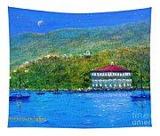 Catalina Island Night Tapestry