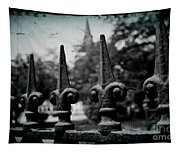Cathedral Fence Tapestry