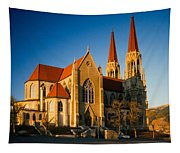 Cathedral Helena Montana Tapestry