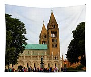 Cathedral In Pecs Tapestry