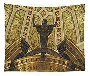 Cathedral Of The Immaculate Conception Detail - Mobile Alabama Tapestry