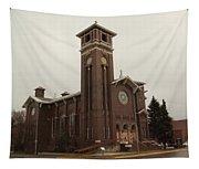 Catholic Church In Lewesiton  Tapestry