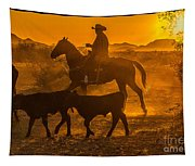 Cattle Drive 13 Tapestry