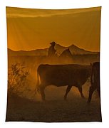 Cattle Drive 16 Tapestry