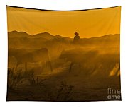 Cattle Drive 8 Tapestry