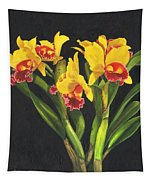 Cattleya Orchid Tapestry
