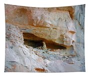 Cave Dwelling Where Pictograms Were Found Tapestry