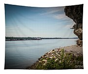 Cave In Rock Illinois Tapestry