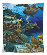 Cayman Turtles Re0010 Tapestry