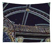 Ceiling In Lights Tapestry