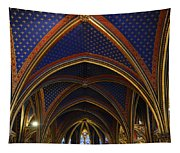 Ceiling Of The Sainte-chapelle  Paris Tapestry