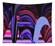 Celestial Cave Digital Art Tapestry