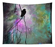 Celestial Dream Of Crow Tapestry
