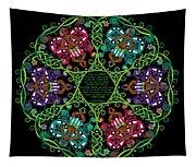 Celtic Fairy Mandala Tapestry