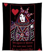 Celtic Queen Of Hearts Part I Tapestry