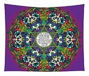Celtic Spring Fairy Mandala Tapestry