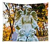 Cemetery Angel Tapestry