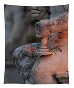 Cemetery Cherub - Hvar Croatia Tapestry