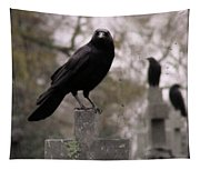 Cemetery Crows Tapestry