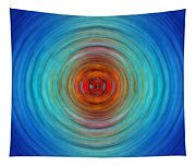 Center Point - Abstract Art By Sharon Cummings Tapestry