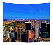 Central Park And New York City In Autumn Tapestry
