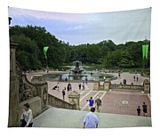 Central Park - Bethesda Fountain Tapestry