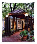 Central Park Boathouse Tapestry