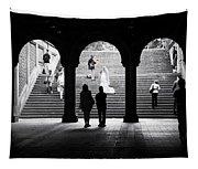 Central Park Bride II Tapestry